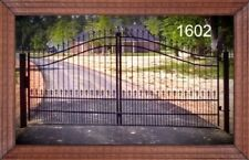 Free Shipping* Steel Driveway Entry Gate #1602 12 Ft Wd Ds Home Security