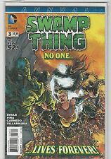 Swamp Thing #3 Annual New 52 vol 5 DC Comics 2011 NM