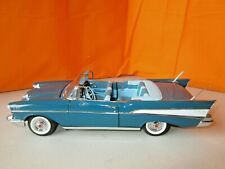 Danbury Mint 1957 Chevrolet Bel Air Convertible 1:24 Diecast NO BOX