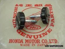 "Honda Benly 125  CS92 CS95  Latch Tool Box Side cover "" HM logo "" 2pcs.  JAPAN"