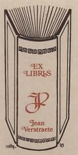 Ex Libris Willy Braspennincx : Opus 23, Jan Verstraete