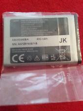 Authentic OEM  Original 3.7V Li-Ion 800mAh Samsung Cell Phone Battery AB463446BA