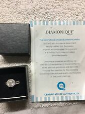 qvc diamonique ring size 8 Wedding Set