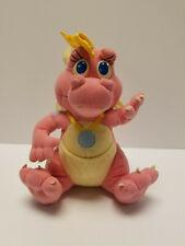 Cassie Dragon Tales Tails Plush Doll Playskool 1999 7 Ord Zak Wheezie Quetzal 🙂