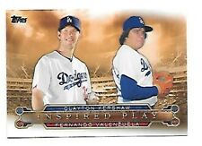 CLAYTON KERSHAW   2015 TOPPS INSPIRED PLAY #I-7     FREE COMBINED SHIPPING
