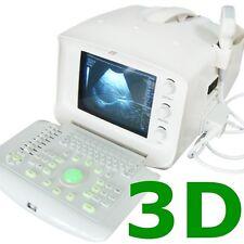 3D Color Doppler Portable Digital Ultrasound Machine Scanner+3.5MH Convex Probe