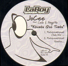 JOCEE - Rhumba que tumba,ft. Celo & Negrita - Laboy - Usa - LAB-001
