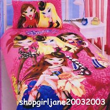 Bratz - Carosel Roses - Single/Twin Bed Quilt Doona Duvet Cover Set
