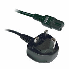 3M Figure Fig of 8 IEC C7 Mains Power Lead Cable Cord - 3 Metre Long