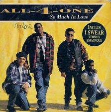 CD 4 TITRES--ALL-4-ONE--SO MUCH IN LOVE--1995