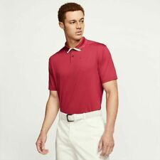 Nike Dri-Fit Vapor Golf Polo Shirt Sierra Red Bv0472 Medium