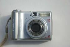 Canon PowerShot A530 PC1184 w/ SD Card - Clean Condition
