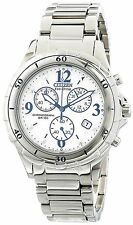 Citizen Eco-Drive Women's FB1350-58A Chronograph Stainless Steel Sport Watch