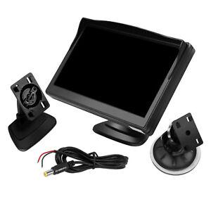 5 Inch Tft Lcd Car Monitor Reversing Screen for Car Rear View Backup Camera