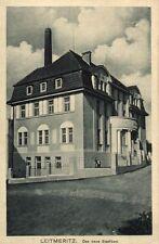 12347/ Foto AK, Leitmeritz, Das neue Stadtbad, 1912