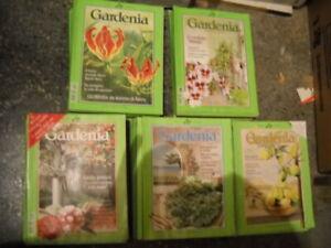 GARDENIA Ed. Mondadori - Rivista Giardinaggio 64 copie dal 1991 al 2000