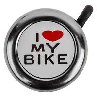 SUNLITE I LOVE MY BIKE BLACK BICYCLE BELL
