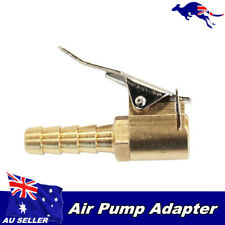 """Car Truck Airline Tyre Inflator Valve 1/3"""" 8mm Brass Clip On Air Chuck Connector"""