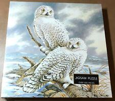 Springbok Arctic Vigil Puzzle 500 pieces NEW Owl Animal Bird Nature Vintage