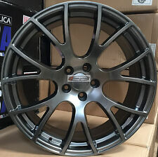22 Hellcat Rims Dark Gunmetal Rims Wheels Fit Dodge RAM 1500 Dakota Durango 24