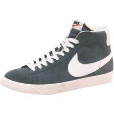 Para Hombre Nike Blazer De Premium Vintage Gamuza Zapatillas Vela Verde Talla UK8.5