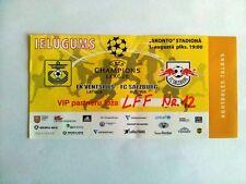 1994 - 2013 /2014 EUROCUPS ticket LATVIA LITHUANIA ESTONIA