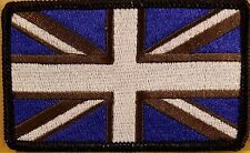 UK UNITED KINGDOM Flag Patch With VELCRO® Brand Fastener Morale Emblem II