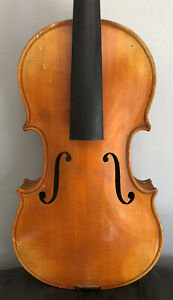 Good Antique/vintage 4/4 Full Size Violin For Restoration