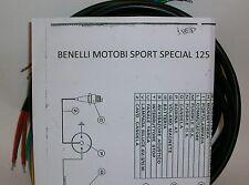 IMPIANTO ELETTRICO ELECTRICAL WIRING MOTO BENELLI MOTOBI SPORT SPECIAL+SCHEMA