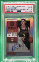 2018-19 Contenders The Finals Ticket Kevin Huerter AUTO /49 AUTO PSA 9 🏦 POP 1
