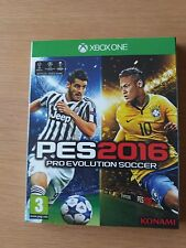 XBOX ONE GAME **** PES 2016 **** Pro Evolution Soccer **** NEW SEALED