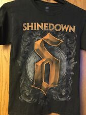 Shinedown - North America Summer Tour 2013.  Black Shirt.   S/CH/P.