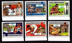 Olympic Madagascar 1987 set of stamps Mi#1088-92A MNH CV=10€