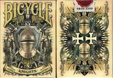 Knights Bicycle Playing Cards Poker Size Deck USPCC Custom Limited Edition New