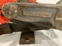 Rebar Cutter and Bender - HIT Capacity 16MM Made in Japan-Good Condition