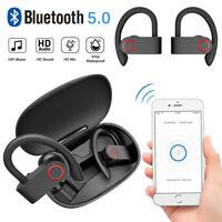 TWS Wireless Earbuds Bluetooth 5.0 Headset Earphones Stereo Headphones Ear Hook