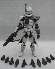 "Custom 1/18 Microman DLX Clone ARC commando Jet Pack Trooper Star wars 4"" Figure"
