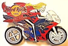Hard Rock Cafe Orlando Biketoberfest Pin 2007 Florida Skeleton Halloween LE New