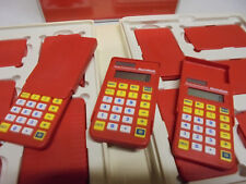 18 Texas Instruments MathMate Solar Calculators for the Classroom 2 Teacher Sets