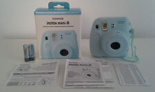 Fujifilm Fuji instax mini 8 Blue Instant Film(Polaroid) Camera + 50 Mini Prints