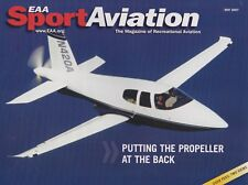 Sport Aviation (May 2007) (X-Plane Software, Pusher Planes, FAA Certification)