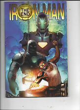Marvel Comics Iron Man the End Trade Paper Back F/VF