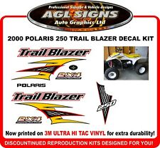 2000 Polaris  250 Trail Blazer  Reproduction Decal Set    Trailblazer