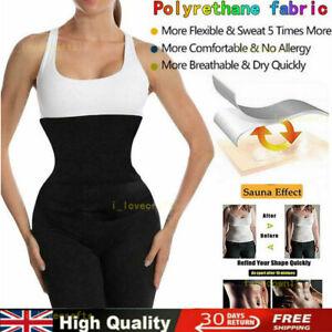 Women Ladies Bandage Wrap Lumbar Waist Support Sauna Belt Trimmer Body Shaper