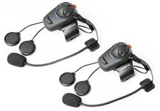 intercomunicador Bluetooth sena SMH5 dual para 2 cascos modular, integral ó jet