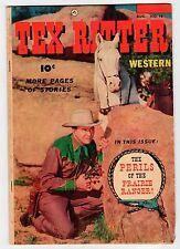 Fawcett TEX RITTER #18 August 1953  Vintage Comic