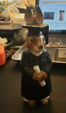 Figurine GOEBEL RARE Rabbit Graduate Scholar