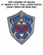 THE LEGEND OF ZELDA ACTION ADVENTURE VIDEO GAME EMBROIDERY IRON ON PATCH BADGE
