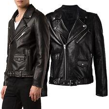 US Men Leather Jacket Hommes veste cuir Herren Lederjacke chaqueta de cuero R27b
