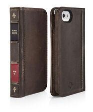 Twelve South BookBook Case for iPhone 5 (S,SE) - Vintage Brown